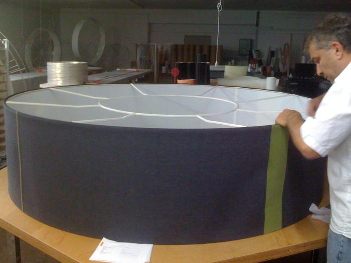 produktion lampenschirme f r gesch fts und wohnr ume. Black Bedroom Furniture Sets. Home Design Ideas