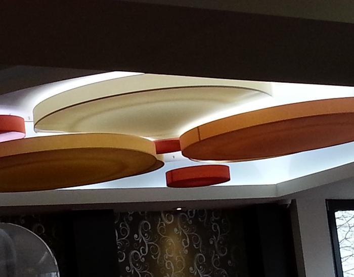 lampenschirme flache zylinder / lampenschirme / textilhandel /